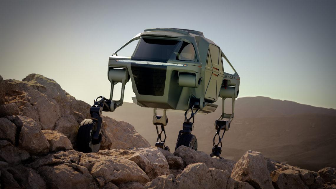 Hyundai-Cradle-Walking-Car-Concept-Das-Rettungsfahrzeug-der-Zukunft